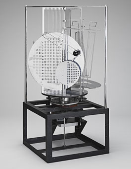 Laszlo Moholy-Nagy's Light Prop for an Electric Stage (Busch-Reisinger Museum/DACS, 1930)