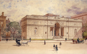 The Morgan Library as it first stood (McKim, White and Mead, 1906)