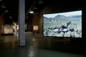 Moving Image (installation view) (photo by Etienne Frossard, 2013)