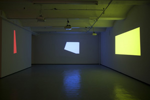 Michael Snow's The Viewing of Six New Works (Jack Shainman gallery, 2012)