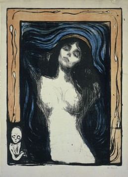 Edvard Munch's Madonna (Epstein Family Collection, 1895; 1902 printing)