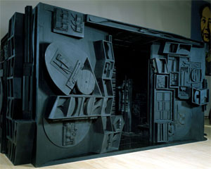 Louise Nevelson's Mrs. N's Palace (Metropolitan Museum of Art, 1964-1977)