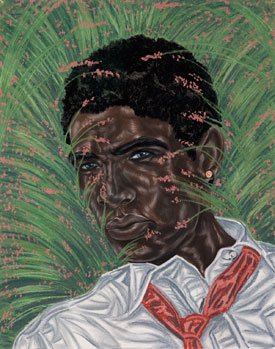 Toyin Ojih Odutola's Between the Margins (courtesy of the artist/Jack Shainman, 2017)