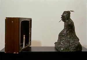 Buddha (Museum for Contemporary Art/Center of Art and Media, Karlsruhe, 1989)