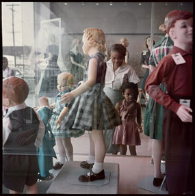 Gordon Parks's Ondria Tanner and Her Grandmother Window-Shopping (Salon 94 Freeman, 1956)