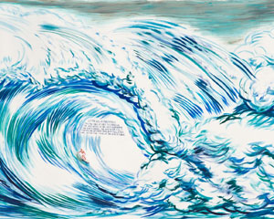 Raymond Pettibon's No Title (Let Me Say . . .)(private collection/Regen Projects, 2012)