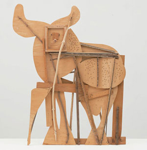 Pablo Picasso's Bull (courtesy estate of the artist/ARS, Museum of Modern Art, c. 1958)