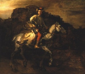 Rembrandt's The Polish Rider (Frick Collection, photo by Richard di Liberto, New York, c. 1655)