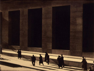 Paul Strand's Wall Street (Metropolitan Museum of Art, 1915)