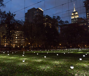 Erwin Redl's Whiteout (Madison Square Park, 2017–2018)