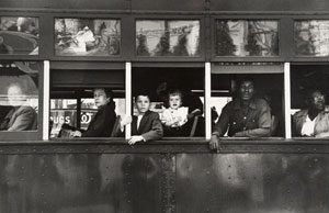 Robert Frank's Trolley: New Orleans, from The Americans (Metropolitan Museum of Art, 1955)