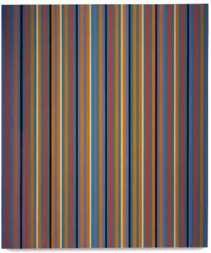 Bridget Riley's Poppy (PaceWildenstein, 1982)