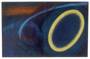 Dorothea Rockburne's Summer's Nighttime Sky (New York Studio School, 1993)