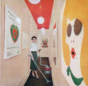 Martha Rosler's Vacuuming Pop Art (Mitchell-Innes and Nash, 1966-1972)