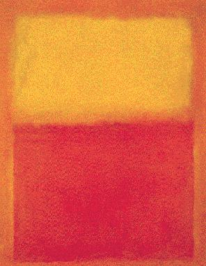 Mark Rothko's Orange and Yellow (Albright-Knox Gallery, 1956)