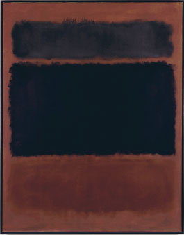 Mark Rothko's No. 22 (Untitled) (photo by the Mark Rothko Foundation/ARS, Albright-Knox Art Gallery, 1961)