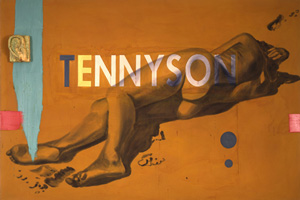 David Salle's Tennyson (Mary Boone gallery, 1983)