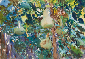 John Singer Sargent's Gourds (Brooklyn Museum, 1908)