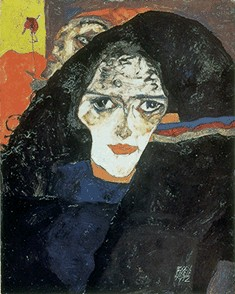 Egon Schiele's Mourning Woman (Leopold Collection, 1912)