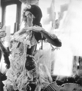 Carolee Schneemann's Body Collage (filmed by Gideon Bachmann, 1967)