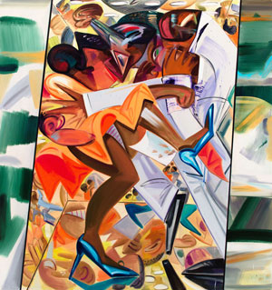 Dana Schutz's Fight in an Elevator (Whitney Museum, 2015)