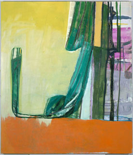 Amy Sillman's The Elephant in the Room (Sikkema Jenkins, 2006)