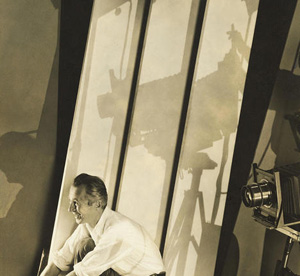 Edward Steichen's Self-Portrait with Photographic Paraphernalia (Whitney Museum of American Art, 1929)