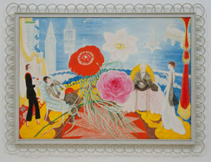 Florine Stettheimer's Family Portrait, II (photo by Scala/Art Resource, Museum of Modern Art, 1933)