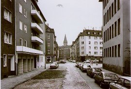 Thomas Struth's Düsselstrasse, Düsseldorf (collection of the artist, 1979)