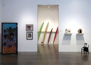 Swell's installation view (Metro Pictures, 2010)