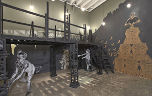 SWOON's installation view (Deitch Projects, 2005)