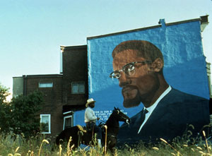 Ron Tarver's A Ride by North Philly Rows (Studio Museum in Harlem, 1993)