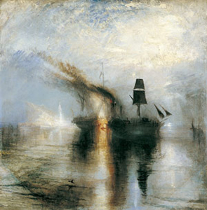J. M. W. Turner's Peace—Burial at Sea (Tate, Turner Bequest, 1842)