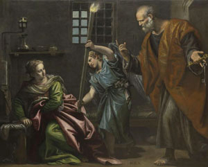 Paolo Veronese's Saint Agatha Visited by Peter in Prison (San Pietro Martire, Murano, 1566–1567)