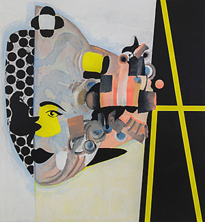 Charline von Heyl's Carlotta (photo by Jason Mandella, Ovitz Family Collection, 2013)