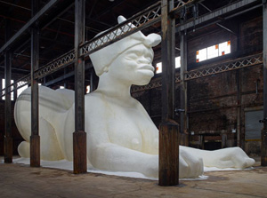 Kara Walker's A Subtlety, or the Marvelous Sugar Baby (Creative Time, 2014)