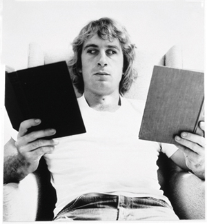 William Wegman's Reading Two Books (Robert and Gayle Greenhill, 1971)