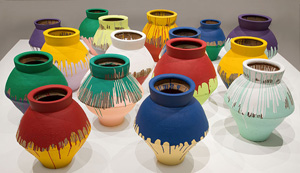 Ai Weiwei's Colored Vases (Brooklyn Museum, 2007–2010)