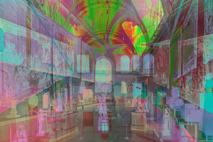 James Welling's Morgan Great Hall (Wadsworth Atheneum, 2014)
