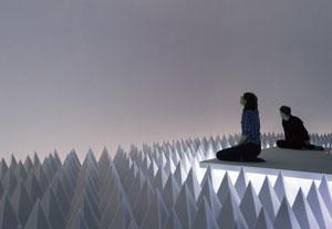 Doug Wheeler's PSAD Synthetic Desert III (Guggenheim Museum, 1971/2017)