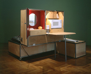 Andrea Zittel's Norton Unit 2 (New Museum of Contemporary Art/Peter and Eileen Norton, 1994)